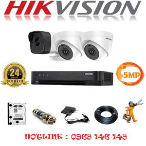 TRỌN BỘ 3 CAMERA HIKVISION 5.0MP (HIK-529110)-HIK-529110