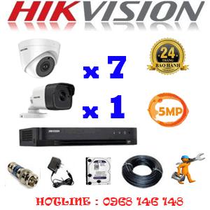 Lắp Đặt Trọn Bộ 8 Camera Hikvision 5.0Mp (Hik-579110)-HIK-579110