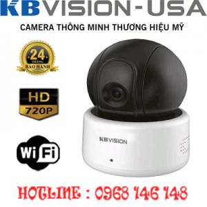Lắp Đặt Trọn Bộ 1 Camera Wifi 1.0Mp Kbvision Kx-H10Pwn-KX-H10PWN