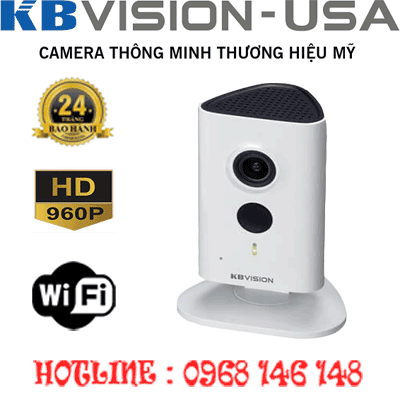 TRỌN BỘ 1 CAMERA WIFI 1.3MP KBVISION KX-H13WN-KX-H13WN