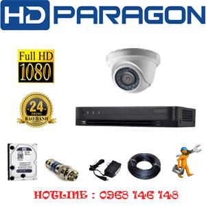 Lắp Đặt Trọn Bộ 1 Camera Hdparagon 2.0Mp (Prg-21300F)-PRG-21300F