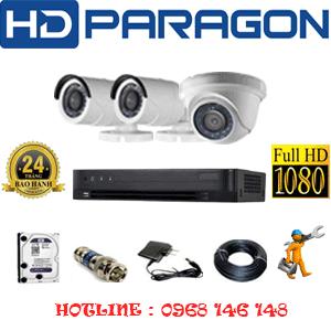 Lắp Đặt Trọn Bộ 3 Camera Hdparagon 2.0Mp (Prg-21324F)-PRG-21324F