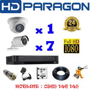 Lắp Đặt Trọn Bộ 8 Camera Hdparagon 2.0Mp (Prg-21374F)-PRG-21374F