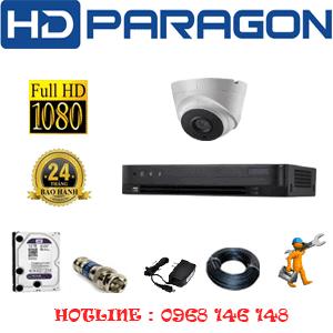 TRỌN BỘ 1 CAMERA HDPARAGON 2.0MP (PRG-21700)-PRG-21700