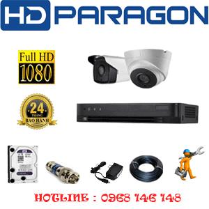 Lắp Đặt Trọn Bộ 2 Camera Hdparagon 2.0Mp (Prg-21718)-PRG-21718