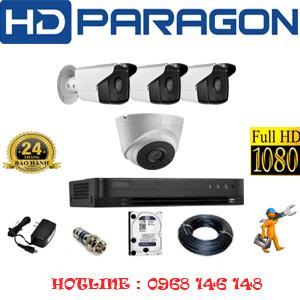 Lắp Đặt Trọn Bộ 4 Camera Hdparagon 2.0Mp (Prg-21738)-PRG-21738