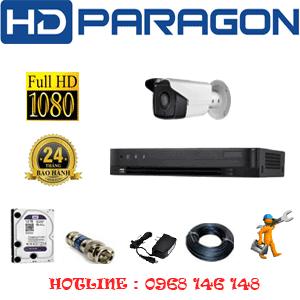 TRỌN BỘ 1 CAMERA HDPARAGON 2.0MP (PRG-21800)-PRG-21800