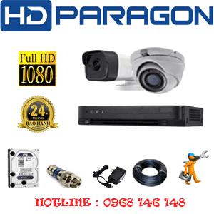 Lắp Đặt Trọn Bộ 2 Camera Hdparagon 2.0Mp (Prg-219110)-PRG-219110
