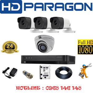 Lắp Đặt Trọn Bộ 4 Camera Hdparagon 2.0Mp (Prg-219310)-PRG-219310