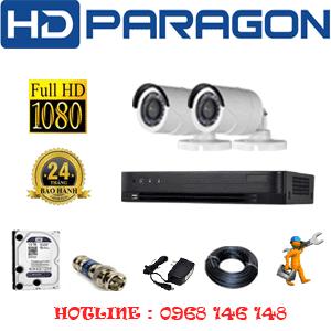 Lắp Đặt Trọn Bộ 2 Camera Hdparagon 2.0Mp (Prg-22400F)-PRG-22400F