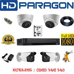 Lắp Đặt Trọn Bộ 4 Camera Hdparagon 2.0Mp (Prg-22728)-PRG-22728