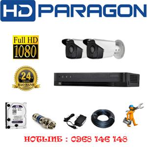 Lắp Đặt Trọn Bộ 2 Camera Hdparagon 2.0Mp (Prg-22800)-PRG-22800