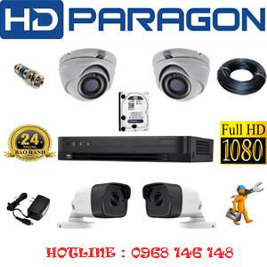 Lắp Đặt Trọn Bộ 4 Camera Hdparagon 2.0Mp (Prg-229210)-PRG-229210