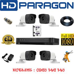 Lắp Đặt Trọn Bộ 4 Camera Hdparagon 2.0Mp (Prg-241000)-PRG-241000