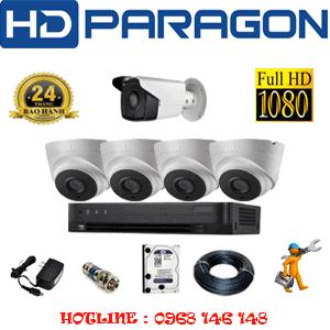 Lắp Đặt Trọn Bộ 5 Camera Hdparagon 2.0Mp (Prg-24718)-PRG-24718