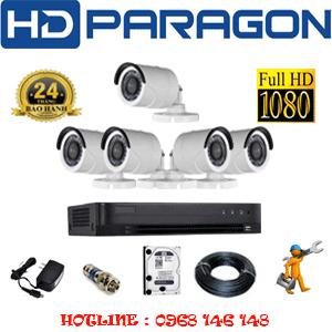 Lắp Đặt Trọn Bộ 5 Camera Hdparagon 2.0Mp (Prg-25400F)-PRG-25400F
