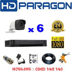 Lắp Đặt Trọn Bộ 6 Camera Hdparagon 2.0Mp (Prg-261000)-PRG-261000