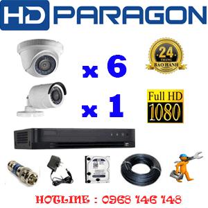 Lắp Đặt Trọn Bộ 7 Camera Hdparagon 2.0Mp (Prg-26314F)-PRG-26314F