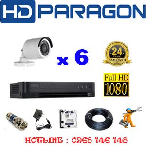 Lắp Đặt Trọn Bộ 6 Camera Hdparagon 2.0Mp (Prg-26400F)-PRG-26400F