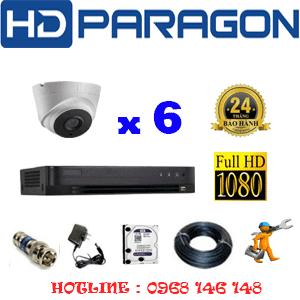 Lắp Đặt Trọn Bộ 6 Camera Hdparagon 2.0Mp (Prg-26700)-PRG-26700