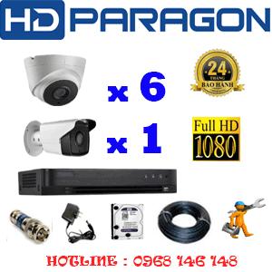 Lắp Đặt Trọn Bộ 7 Camera Hdparagon 2.0Mp (Prg-26718)-PRG-26718