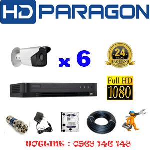 Lắp Đặt Trọn Bộ 6 Camera Hdparagon 2.0Mp (Prg-26800)-PRG-26800