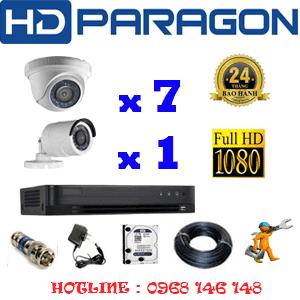 Lắp Đặt Trọn Bộ 8 Camera Hdparagon 2.0Mp (Prg-27314F)-PRG-27314F