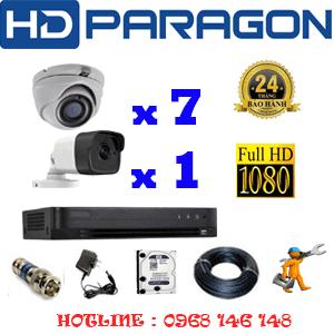 Lắp Đặt Trọn Bộ 8 Camera Hdparagon 2.0Mp (Prg-279110)-PRG-279110