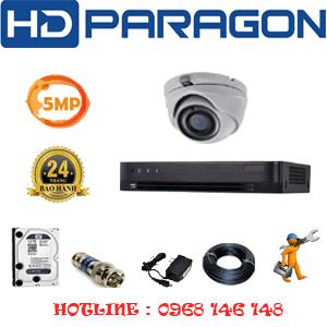 Lắp Đặt Trọn Bộ 1 Camera Hdparagon 5.0Mp (Prg-51500)-PRG-51500