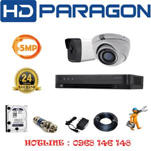 Lắp Đặt Trọn Bộ 2 Camera Hdparagon 5.0Mp (Prg-51516)-PRG-51516