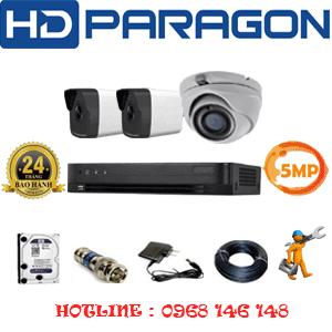 Lắp Đặt Trọn Bộ 3 Camera Hdparagon 5.0Mp (Prg-51526)-PRG-51526