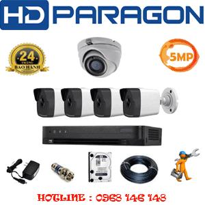 Lắp Đặt Trọn Bộ 5 Camera Hdparagon 5.0Mp (Prg-51546)-PRG-51546