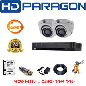 Lắp Đặt Trọn Bộ 2 Camera Hdparagon 5.0Mp (Prg-52500)-PRG-52500