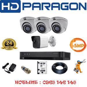 Lắp Đặt Trọn Bộ 4 Camera Hdparagon 5.0Mp (Prg-53516)-PRG-53516
