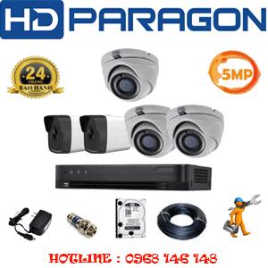 Lắp Đặt Trọn Bộ 5 Camera Hdparagon 5.0Mp (Prg-53526)-PRG-53526