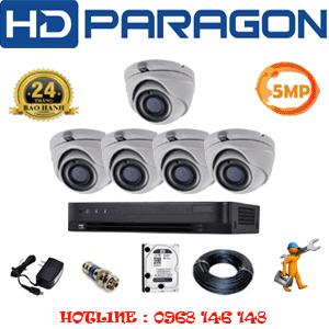 Lắp Đặt Trọn Bộ 5 Camera Hdparagon 5.0Mp (Prg-55500)-PRG-55500
