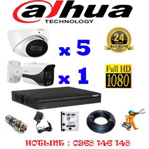 Lắp Đặt Trọn Bộ 6 Camera Dahua 2.0Mp (Dah-25718)-DAH-25718