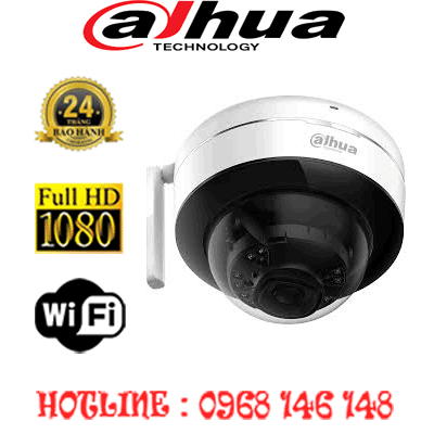 TRỌN BỘ 1 CAMERA WIFI 2.0MP DAHUA IPC-D26P-IPC-D26P