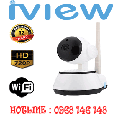 TRỌN BỘ 1 CAMERA Wifi IVIEW 1.0MP IVW-6705AL-IVW-6705AL