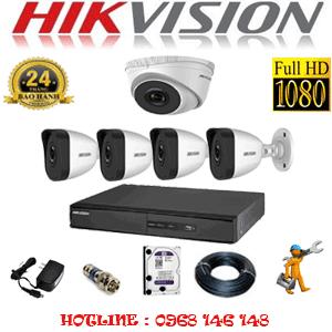 Lắp Đặt Trọn Bộ 5 Camera Ip Hikvision 2.0Mp (Hik-2113414)-HIK-2113414