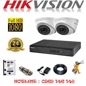 TRỌN BỘ 2 CAMERA IP HIKVISION 2.0MP (HIK-221300)-HIK-221300