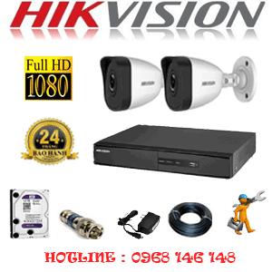 Lắp Đặt Trọn Bộ 2 Camera Ip Hikvision 2.0Mp (Hik-221400)-HIK-221400