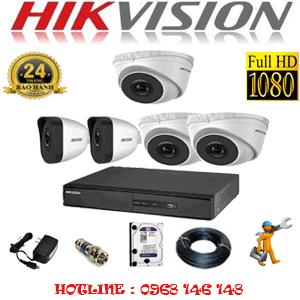 Lắp Đặt Trọn Bộ 5 Camera Ip Hikvision 2.0Mp (Hik-2313214)-HIK-2313214
