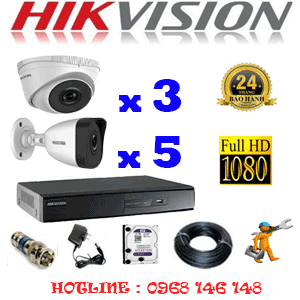 TRỌN BỘ 8 CAMERA IP HIKVISION 2.0MP (HIK-2313514)-HIK-2313514