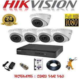 Lắp Đặt Trọn Bộ 5 Camera Ip Hikvision 2.0Mp (Hik-251300)-HIK-251300