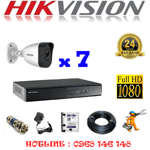 TRỌN BỘ 7 CAMERA IP HIKVISION 2.0MP (HIK-271400)-HIK-271400