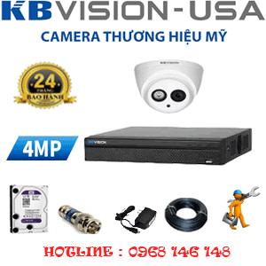 Lắp Đặt Trọn Bộ 1 Camera Kbvision 4.0Mp (Kb-41900)-KB-41900