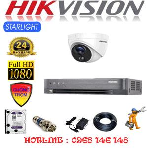 TRỌN BỘ 1 CAMERA HIKVISION 2.0MP (HIK-212100)-HIK-212100
