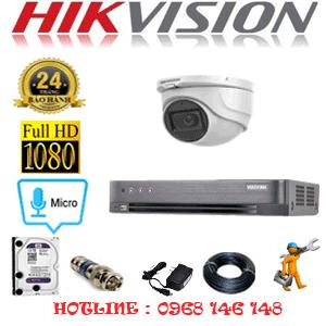 TRỌN BỘ 1 CAMERA HIKVISION 2.0MP (HIK-212300)-HIK-212300