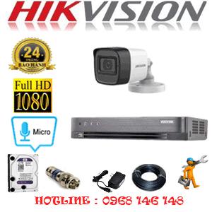 TRỌN BỘ 1 CAMERA HIKVISION 2.0MP (HIK-212400)-HIK-212400
